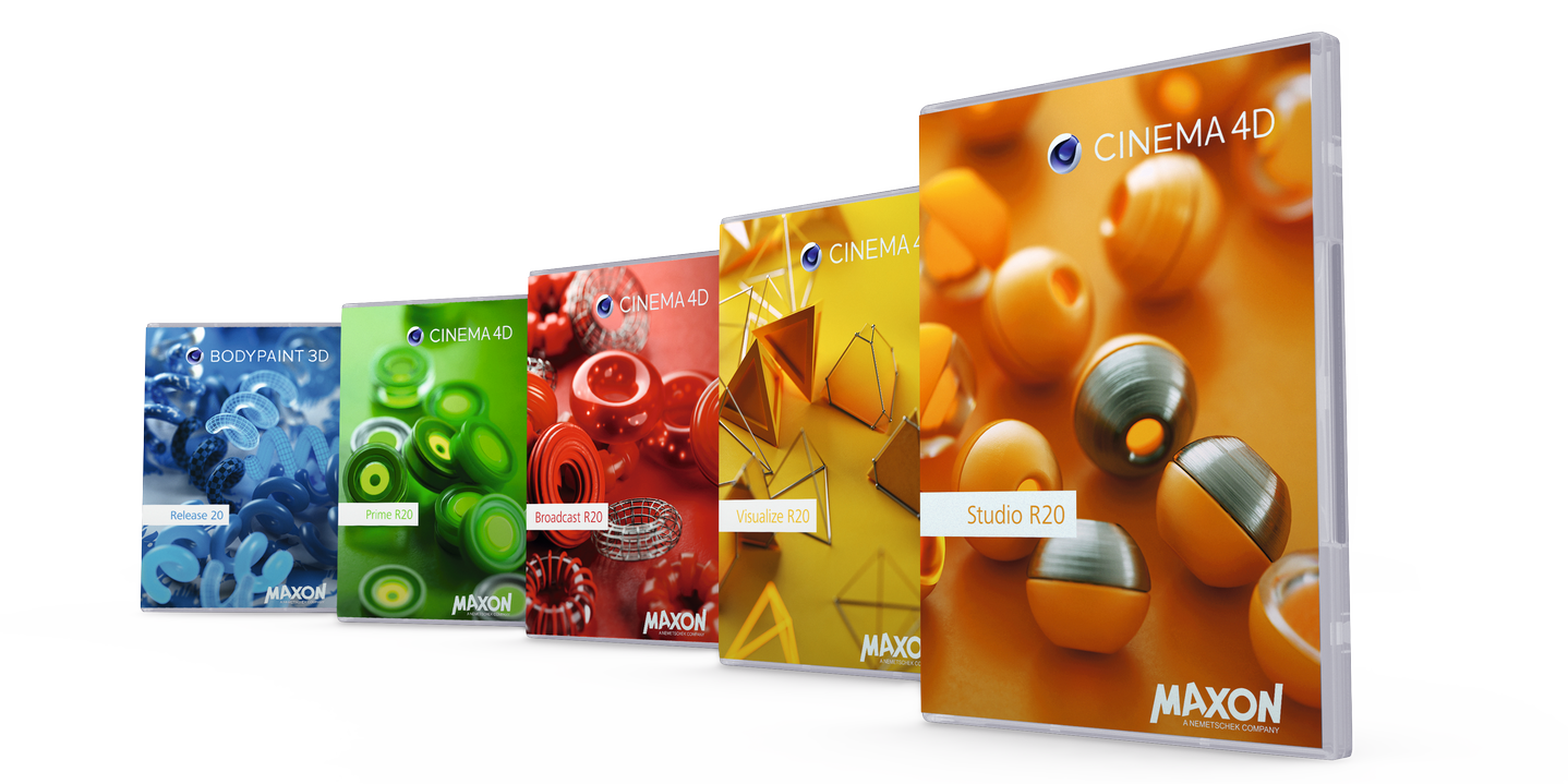 Cinema4D R20 Range
