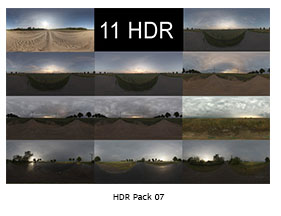 HDR PACK 007