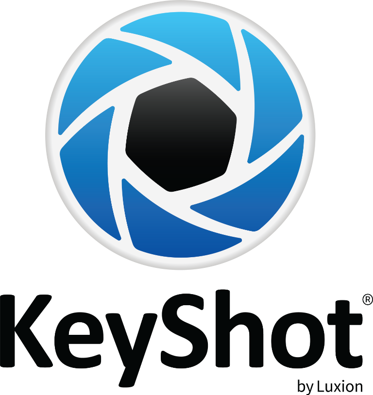 KeyShot by Luxion-black-square-CMYK
